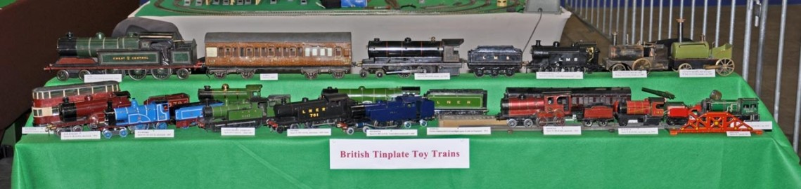 British Tinplate Toy Trains