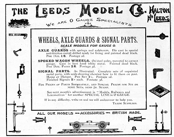 Leeds 1915 March Advertisement
