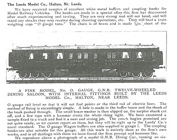 Leeds 1915 May Trade News