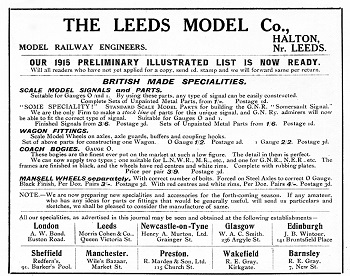 Leeds 1915 July Advertisement