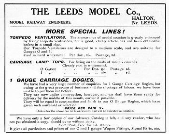 Leeds 1915 October Advertisement