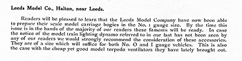 Leeds 1915 October Trade News