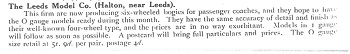 Leeds 1917 January Trade News