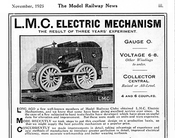Leeds 1925 November Advertisement