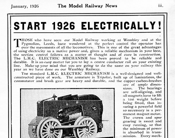 Leeds 1926 January Advertisement