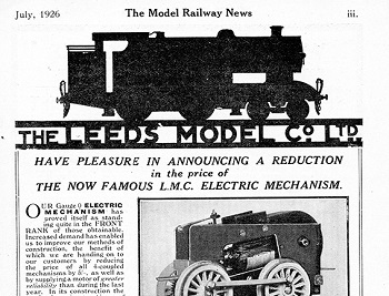 Leeds 1926 July Advertisement