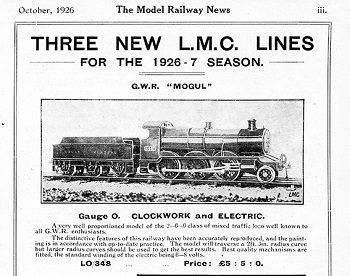 Leeds 1926 October Advertisement