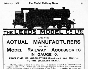 Leeds 1927 February Advertisement