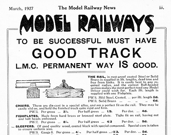 Leeds 1927 March Advertisement