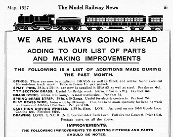 Leeds 1927 May Advertisement