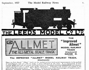 Leeds 1927 September Advertisement