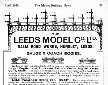 Leeds 1928 April Advertisement