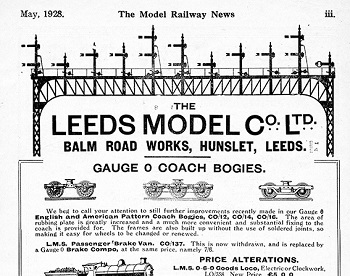 Leeds 1928 May Advertisement