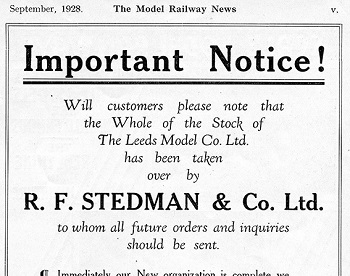 Leeds 1928 September Advertisement