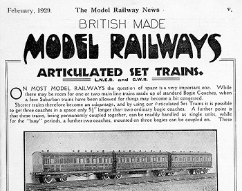 Leeds 1929 February Advertisement