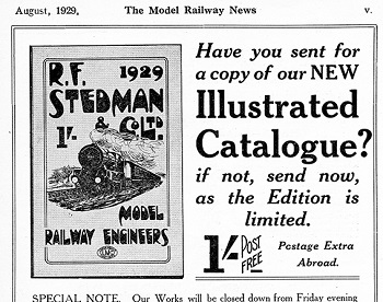 Leeds 1929 August Advertisement
