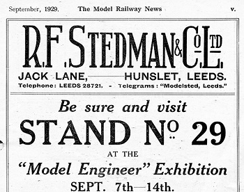 Leeds 1929 September Advertisement
