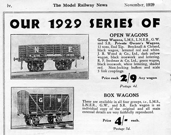 Leeds 1929 November Advertisement