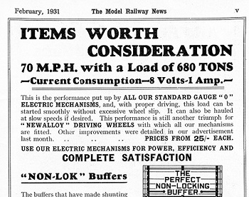 Leeds 1931 February Advertisement