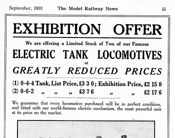 Leeds 1931 September Advertisement