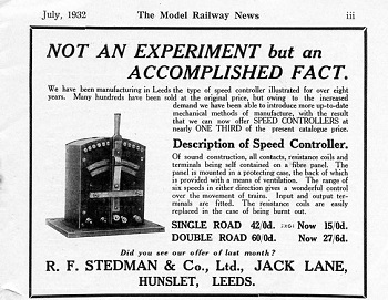 Leeds 1932 July Advertisement