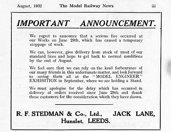 Leeds 1932 August Advertisement