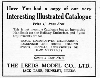 Leeds 1932 October Advertisement
