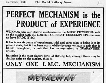 Leeds 1932 December Advertisement