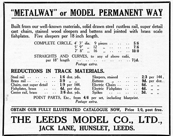 Leeds 1933 January Advertisement