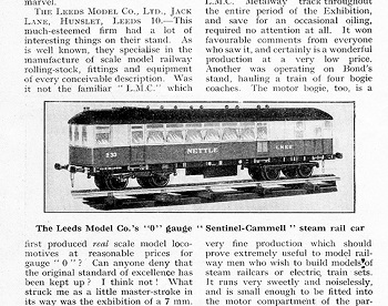 Leeds 1933 October Trade News