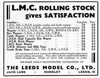 Leeds 1934 January Advertisement