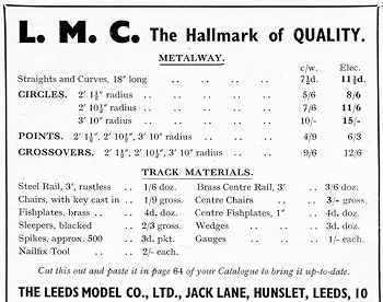 Leeds 1934 June Advertisement