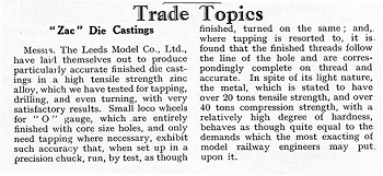 Leeds 1934 July Trade News