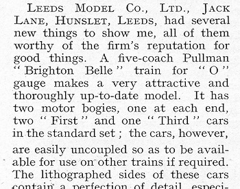Leeds 1934 October Trade News