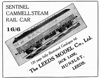 Leeds 1934 November Advertisement
