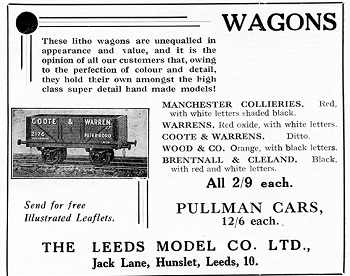 Leeds 1935 January Advertisement