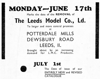 Leeds 1935 June Advertisement