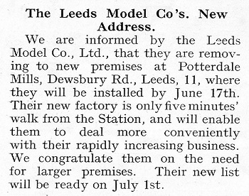 Leeds 1935 June Trade News