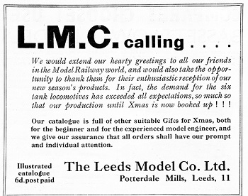 Leeds 1935 December Advertisement