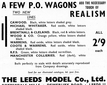 Leeds 1936 January Advertisement