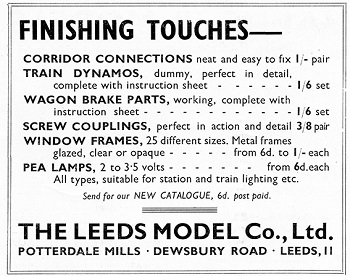 Leeds 1936 May Advertisement