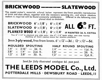 Leeds 1936 August Advertisement