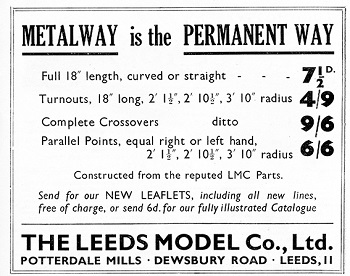 Leeds 1936 October Advertisement