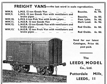 Leeds 1937 October Advertisement