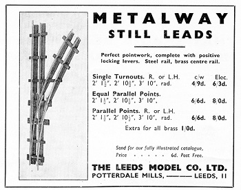 Leeds 1938 January Advertisement