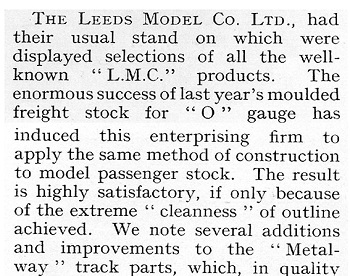 Leeds 1938 October Trade News