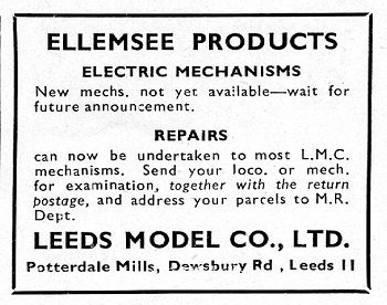 Leeds 1946 September Advertisement