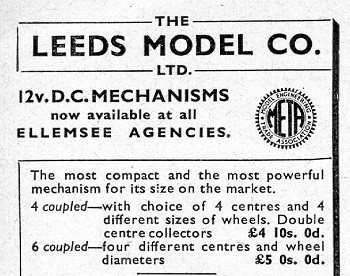 Leeds 1947 March Advertisement