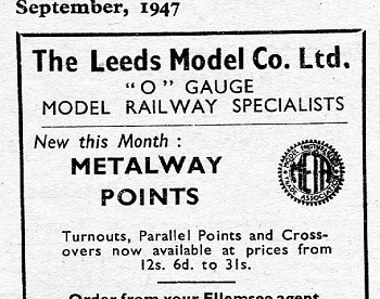 Leeds 1947 September Advertisement