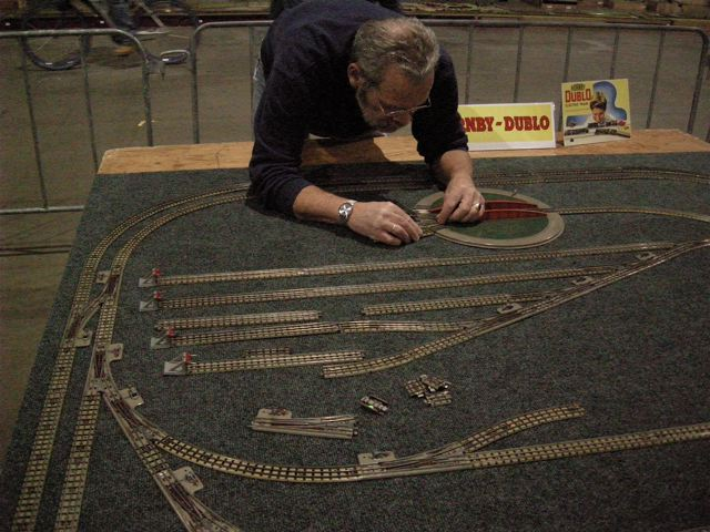 The Hornby 0-gauge layout